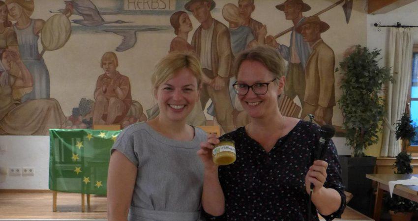 Katharina Schulze und Martina Thalmayr